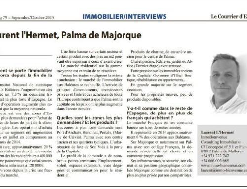 IMMOBILIER/INTERVIEWS – Laurent l'Hermet, Palma de Majorque